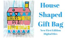 House Shaped Gift Bag • New First Edition Digital Dies • - YouTube