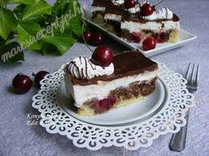 Fincsi receptek: Túrókrémes meggyes sütemény Tiramisu, Cheesecake, Pudding, Ethnic Recipes, Food, Cheesecakes, Custard Pudding, Essen, Puddings