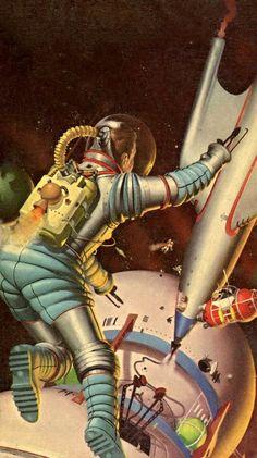 Robert Schulz - Space Tug, 1954.