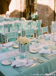 Idées pour un mariage bleu Tiffany {Tiffany Blue Wedding}