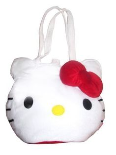 Hello Kitty Oversized Plush Tote Bag * You can find out more details at the link of the image.Note:It is affiliate link to Amazon.