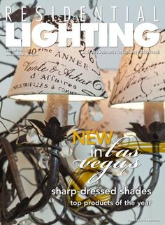 Our January 2013 cover features the Evita six-light fixture with optional Notary clip shades from Light & Living, a Dutch line making its North American debut at winter markets this month. View our full January digital edition here: http://editiondigital.net/publication/?i=140792
