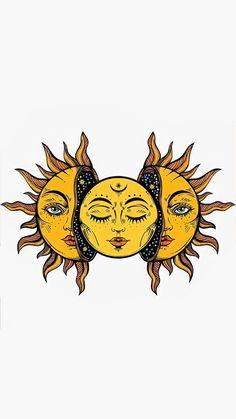 Psychedelic Art, Arte Inspo, Sun Drawing, Trippy Painting, Hippie Painting, Hippie Art, Hippie Drawing, Sun Art, Sketch Art