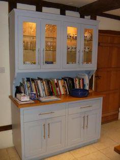 kitchen dresser - Google Search Kitchen Dresser, Kitchen Paint, Kitchen Cabinets, Bathroom Medicine Cabinet, Dressers, Google Search, Kitchen Ideas, Home Decor, Kitchen Sideboard