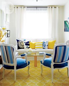 Blue and Yellow with lots of White! urban-cottage-country-charm-interior-livingroom.jpg