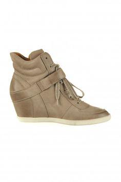 Paul Green Wedge-Sneakers mit Keilabsatz & Klettverschluss beige 1734-559 $159.90
