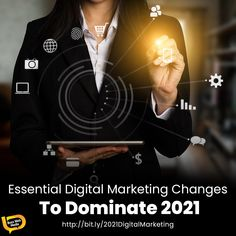 👨💻 There were big shifts in digital consumption and buying practices in 2020, and many shifted their digital marketing to take advantage, while others floundered. So what will 2021 bring? Here are a few of the expected marketing trends in the post-pandemic world💫⚫️ #digitalbranding #businessbranding #brandmarketing #marketingadvice #businessgrowthstrategy #brandingstrategy #brandawareness #brandstorytelling #brandmanagement #onlinepresence #brandloyalty #brandingtip #marketingtip Digital Marketing Trends, Digital Marketing Strategy, Marketing Plan, Marketing Tools, Content Marketing, Media Marketing, Brand Management, Business Management, Corporate Branding