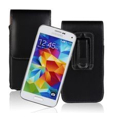 High Quality Vertical Belt Clip Leather Pouch Case Cover For Samsung Galaxy S5 mini G800 Cell Phone Shell