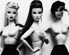 #Rockabilly #Barbies