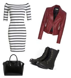 """""""Untitled #2"""" by noellevictoriacastle ❤ liked on Polyvore featuring Superdry, Balenciaga and Givenchy"""