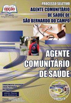 Apostila Processo Seletivo Fundação ABC - São Bernardo do Campo / SP - 2014: - Cargo: Agente Comunitário de Saúde