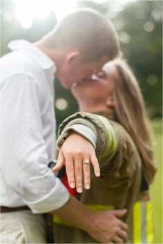 fire fighter engagement, engagement session, field engagement session, couple posing, ring shots, stormy photos, engagement session with rainbow, tampa bay photographer, largo photographer, eagle lake park, fall engagement, blanket photos, cozy engagement, park engagement, tiffany mcclure photography View more of this couple here! : http://www.tiffanymcclure.com/kristen-austin-engagement-session/