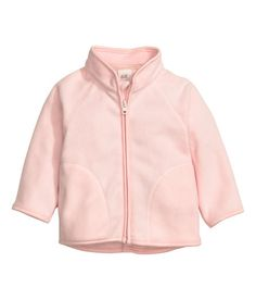 Check this out! Jacket in soft thermal fleece with a stand-up collar, front zip, and side pockets. - Visit hm.com to see more.