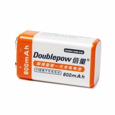 >> Click to Buy << New Arrival 1pcs Doublepow 9V 800mAh Li-ion LSD Rechargeable Battery with 1200 Cycle #Affiliate