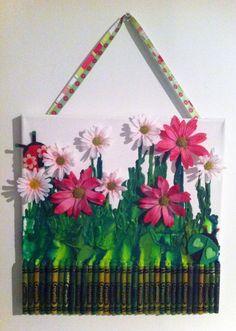 baby shower gift for a pink&green ladybug themed nursery Ladybug Room, Ladybug Garden, Pink Ladybug, Green Art, Pink And Green, Purple, Themed Nursery, Nursery Themes, Crayola Art