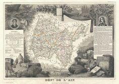 1852_Levasseur_Map_of_the_Department_L'Ain,_France_(Bugey_Wine_Region)_-_Geographicus_-_Ain-levasseur-1852.jpg 3,500×2,489 pixels