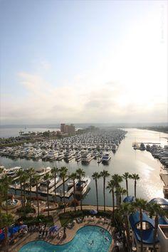 San Diego - View from Sheraton San Diego Hotel & Marina - California, USA