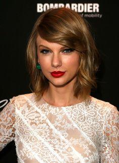Taylor Swift Long Bob