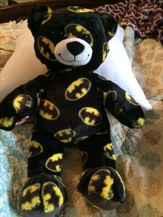 So I bought a batman teddy bear and named it Andy. Because Andy loves batman so much. XD