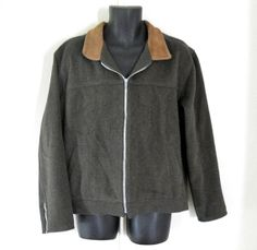 Army Green Jacket Army Green Coat Military by TheVilleVintage, $39.99