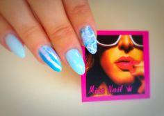 #mermaid effect #marble_nails #shellac