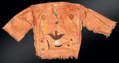 Native American Ghost dance shirt - My Note not sure of source.