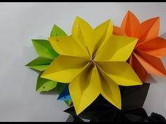 Zero budget home decoration idea - homemade paper craft