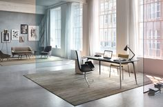 Spacious office combining classic and modernity (credits Walter Knoll)