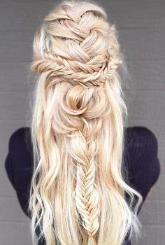 Blonde Haare - moderne Frisuren!