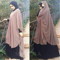 Moslem Fashion, Niqab Fashion, Modest Fashion, Fashion Dresses, Convertible Clothing, Abaya Designs, Hijabi Girl, Cute Scarfs, Muslim Hijab