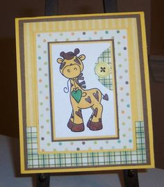 Baby Card by sbs81 - Cards and Paper Crafts at Splitcoaststampers