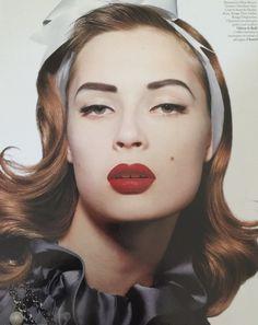 #ThrowBackThursday to beautiful model #TiiuKuik  for Dior, photo #Tyen , makeup Kim, hair by me #WendyIles