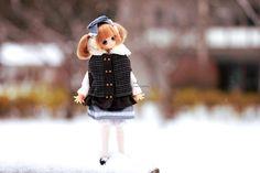 Kinoko ♥ | by Siniirr Maid, Hipster, Teddy Bear, Kitty, Toys, Animals, Animales, Hipsters, Kitten