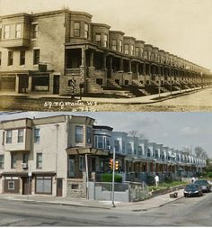 Before & After - West Philadelphia - 59th & Master Streets - 1901 & 2012