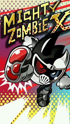 Mighty Zombie X Phone Wallpaper by raidenzein on DeviantArt Kamen Rider Ex Aid, Kamen Rider Series, Dragon Knight, Art Pages, Chibi, Iphone Wallpaper, Geek Stuff, Fan Art, Deviantart