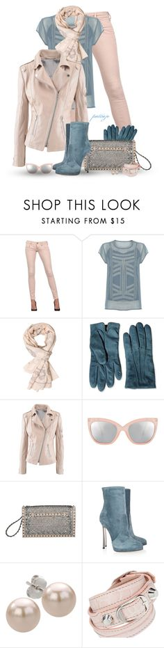 """""""Ski Powder Blue"""" by rockreborn ❤ liked on Polyvore featuring CYCLE, Linea Weekend, A