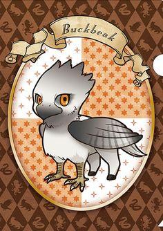 Official anime-style Harry Potter merchandise: Buckbeak