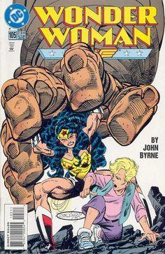 Wonder Woman Vol.2 #105 the first appearance of Cassandra and Helena Sandsmark. Cassandra becomes Wonder Girl.