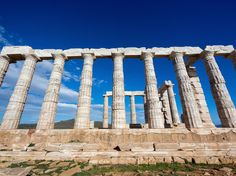"""""""Sounion is a coastal area located on the southern tip of the Attica peninsula, an approximately 45-mile drive from Athens. It's easy to get to via KTEL bus connections that leave from the city center, and the sea there is exceptional. If you're taking the coastal road from Athens, don't forget to stop at KAPE and Legrena beaches along the way. Sounion is full of interesting historical landmarks such as the Temple of Poseidon, but few know the ancient industrial sites and mineral washeries…"""