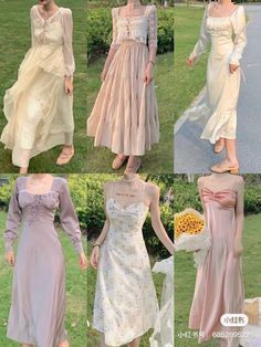Classy Outfits, Pretty Outfits, Pretty Dresses, Beautiful Dresses, Korean Girl Fashion, Ulzzang Fashion, Cute Fashion, Kpop Fashion Outfits, Fashion Dresses