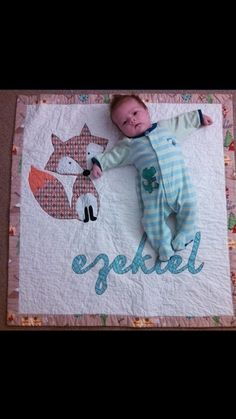 Baby Boy Quilt w/ Name Applique Personalized. Excellent Choice of Designer Fabrics. on Etsy, $84.10