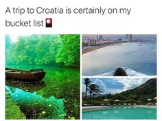 Vacation Places, Dream Vacations, Vacation Spots, Amazing Places On Earth, Beautiful Places To Travel, The Places Youll Go, Cool Places To Visit, Travel Aesthetic, Adventure Is Out There