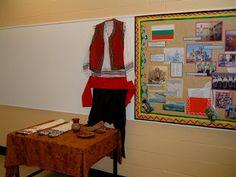 display of Bulgarian culture
