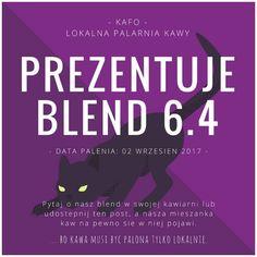 ... bo #kawa musi być palona tylko lokalnie. #KAFO data palenia: 02 wrzesień 2017 (blend 6.4)