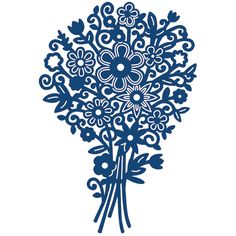 Tattered Lace Floral Bouquet die