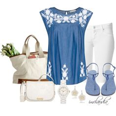 Summer Style Running Errands, created by imclaudia-1 on Polyvore