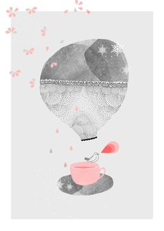Illustraion Tea time by My Lovely Thing
