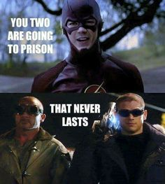 Not from Stephen, but TOTALLY valid #TheFlash #PrisonBreak