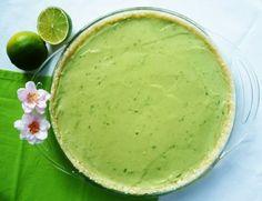 Lime tart (in Russian)