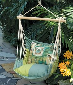 Nature Walk Garden Swing Chair | Hanging Swing Chair | Acacia Catalog